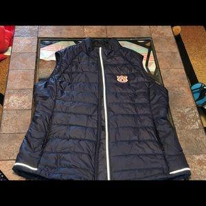 NWOT Cutter & Buck Auburn Tigers Puffer Vest XL